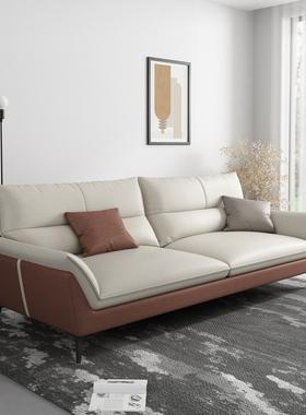 北欧布艺沙发现代简约客厅家具大小户型转角组合乳胶可拆洗三四人