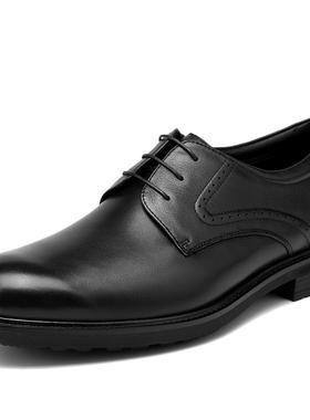 金利来男鞋冬季新款男士加绒保暖商务正装皮鞋婚鞋男202840162