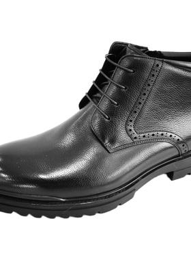 金利来专柜男鞋2020冬季新品202040356ADP加绒棉鞋都市休闲正装