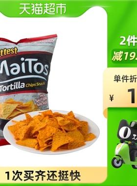 【进口】印尼Maitos玉米片140g香辣味薯片膨化食品玉米片休闲零食