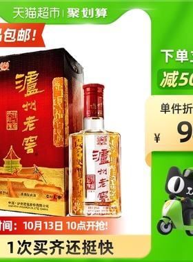 泸州老窖 52度六年窖头曲500mL单瓶 浓香型高度白酒 酒水酒类宴请
