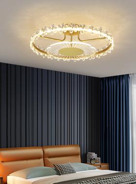 2021年现代简约花型卧室吸顶灯房间创意个性浪漫灯具网红家装灯