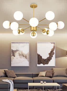 客灯吊灯2021新款装修在简约厅年节能美容院饰创意温馨家装具现代