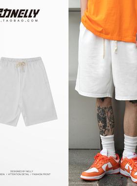 短裤男夏季5分裤宽松直筒运动裤男士五分中裤沙滩裤裤子卫裤男生
