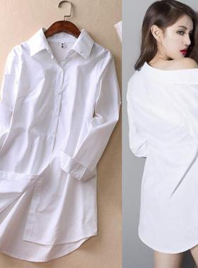 性感白衬衫影楼工作室私房照摄影主题写真服饰少女艺术照拍摄服装