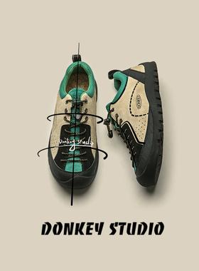多嘴驴Donkey「超多配色」 户外运动鞋男女款休闲徒步鞋登山鞋