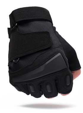 运动半指手套男军秋冬特种兵户外用战术手套健身防滑骑行手套露指