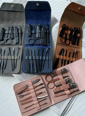 权方位护理!指甲刀套装男女个人修脚指甲钳工具家用挖耳勺指甲剪
