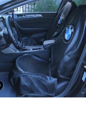 汽车维修水洗皮三件套保养座椅套 汽修防污皮革五件套 叶子板护垫