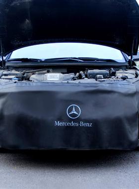 汽车维修保养三件套叶子板护垫 PU皮翼子板护布水洗皮三件套