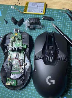 鼠标维修双击 微动更换清洁保养罗技G903GPW雷蛇微软赛睿卓威小米