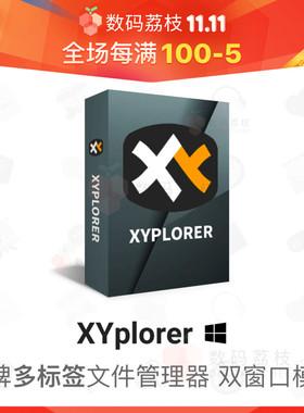 数码荔枝| XYplorer[Win]强大便携的多标签文件管理器