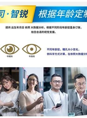 2020新品蔡司智锐镜片钻立方铂金膜防蓝光膜单光数码型亚洲版镜片