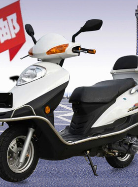 全新125cc新宇雨钻本田款国四电喷踏板摩托车整车燃油车男女省油