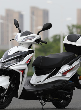 2020年全新国四电喷摩托车125cc踏板燃油男女通用整车款式 可上牌