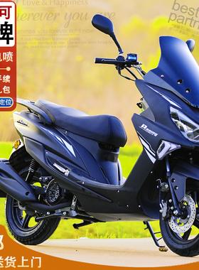 全新国四150路虎燃油女电喷踏板摩托车本田雅马哈款式整车可上牌