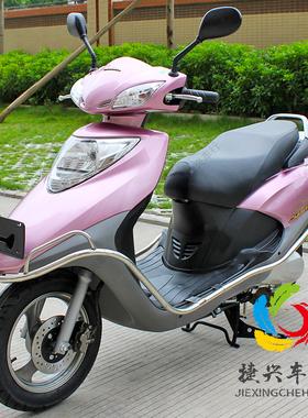 二手本田新款优悦110cc踏板车摩托车燃油助力女装代步四冲程整车