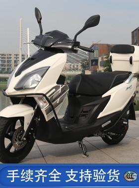 望江铃木UY125CC踏板车摩托车燃油车国四电喷省油整车 全国可上牌