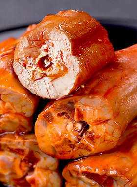 贵族鸭鸭脖网红爆款卤味鸭脖零食小吃香辣甜辣味休闲食品熟食即食