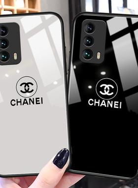 大牌奢华魅族18pro手机壳note8镜面玻璃魅族17新款x8硅胶s6全包防摔E3小香风女款note8高级感潮牌note5保护套