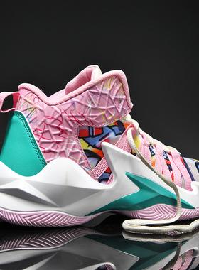 李宁贵宾联名篮球鞋男鸳鸯球鞋青少年运动男鞋欧文7库里8高帮潮鞋
