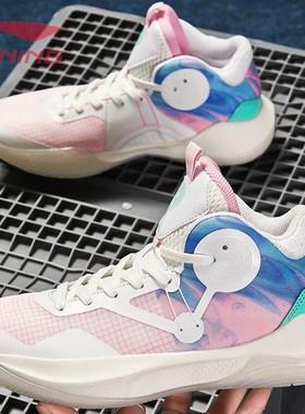 李宁贵宾男鞋音速8利刃7篮球潮鞋百搭运动鞋夏季网面透气高帮球鞋