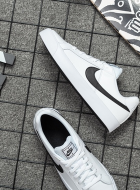Nike耐克板鞋男鞋官网2021冬季新款运动鞋休闲鞋开拓者低帮小白鞋