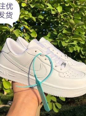 空军一号爱耐克男鞋纯白板鞋AF1低帮aj1冬季学生情侣小白鞋莆田女