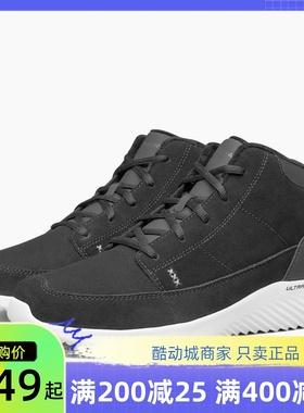 skechers斯凯奇男鞋 冬季新款加绒保暖舒适高帮休闲运动鞋666160