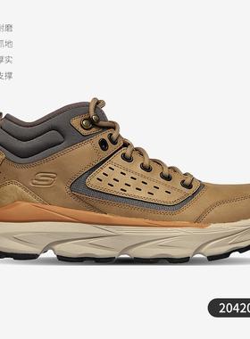 Skechers斯凯奇男鞋2020冬季新款绑带时尚休闲鞋204201
