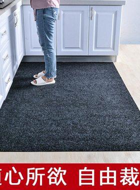 进门地垫门口地毯门垫垫子厨房防滑垫防油中式专用可裁剪家用耐脏