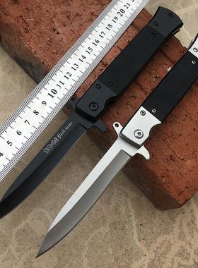 刀具防身军工刀户外高硬度便携军刀特种兵野外小刀随身刀折叠刀