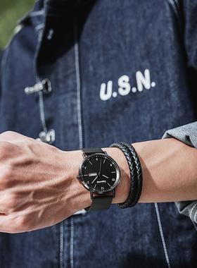 手表男士正品机械表学生潮流黑科技电子石英儿童防水十大品牌男表