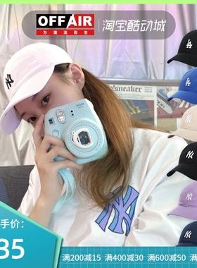韩国MLB经典款NY小标棒球帽男LA弯檐遮阳帽软顶鸭舌帽子女32CP77