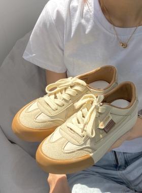 回力女鞋帆布鞋女2021新款大橘为重夏款小脏橘板鞋女鞋子女德训鞋