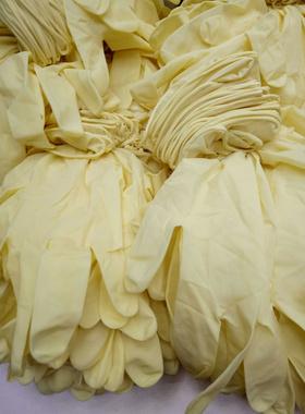 一次性医生乳胶手套橡胶丁腈防护防油工业PVC食品级餐饮厨房专用