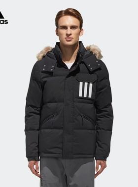 阿迪达斯官网 adidas 男装冬季户外运动羽绒服GE9928 DT7917