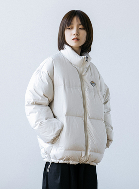 Epicsocotra自制20AW短款加厚白鸭绒立领羽绒服 户外羽绒衣男女款