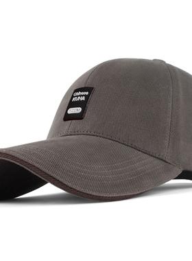 帽子男士春秋棒球帽休闲硬顶太阳帽户外防晒遮阳帽瓜皮帽男鸭舌帽