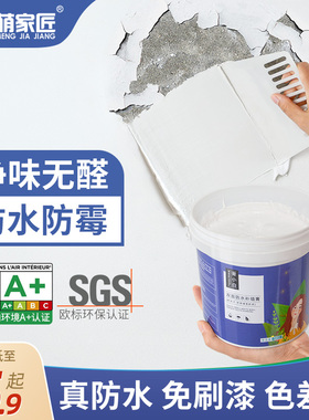 补墙膏墙面修补神器白色墙壁翻新修复自喷漆腻子墙体防水防潮防霉