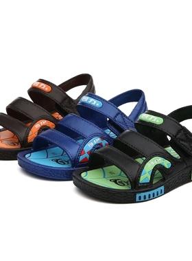 回力童鞋夏季儿童凉鞋男童韩版沙滩鞋女童防滑女童女童软底休闲鞋