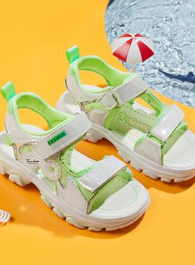 回力女童凉鞋夏季新款时尚小公主运动女孩儿童鞋女网红中大童软底