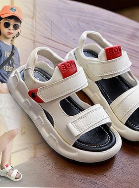 回力男童中小童软底新款夏季2儿童鞋子1-7岁3男孩5女童4宝宝凉鞋6