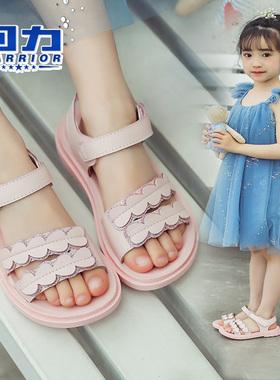 回力童鞋儿童沙滩鞋女童凉鞋小公主夏季新款2021女孩子中大童软底