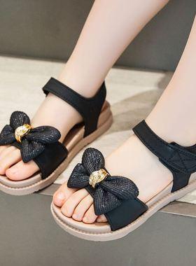 回力女童公主凉鞋2021新款夏季韩版小童软底中大儿童女孩公主童鞋