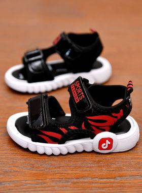 回力儿童凉鞋男2021休闲鞋夏季新款女童沙滩鞋小童鞋韩版宝宝软底