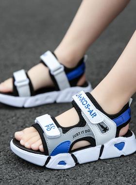 回力童鞋男童凉鞋2021新款夏季女童中大童运动鞋小学生儿童沙滩鞋