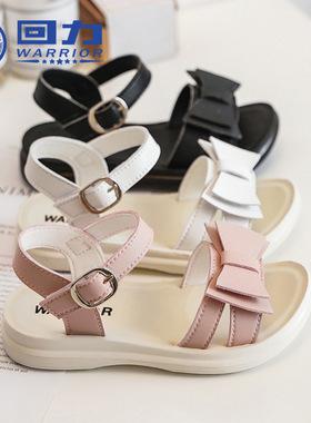 回力女童凉鞋2021新款夏季防滑软底儿童鞋小女孩中大童时尚公主鞋