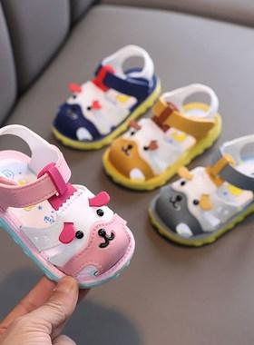 回力宝宝鞋子女夏季防滑软底学步鞋abc儿童小童鞋男童婴儿凉鞋
