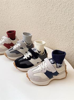 女童运动鞋儿童鞋子男童单鞋跑步鞋中大童二棉鞋21秋冬季新款童鞋